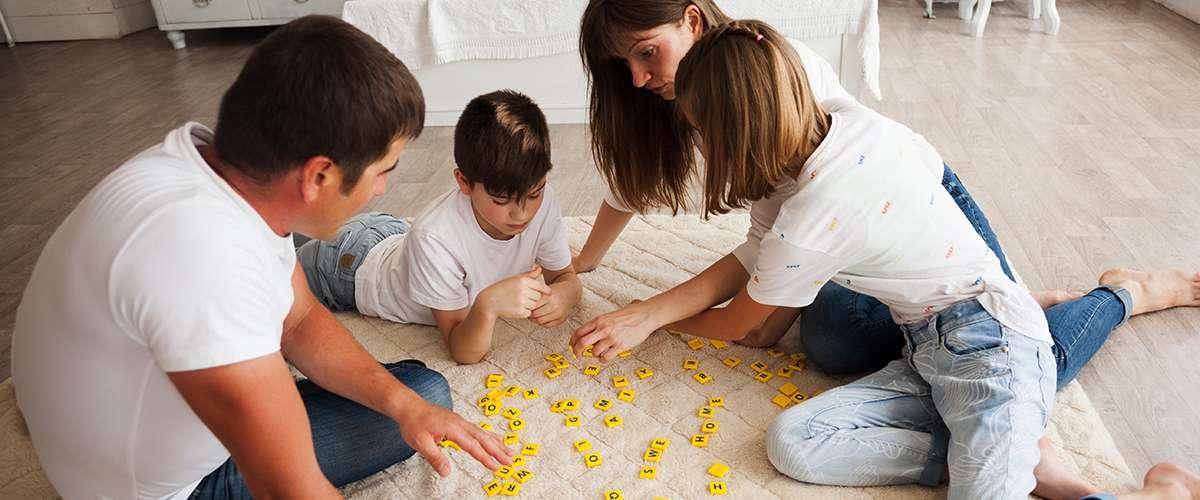 ألعاب منزلية لقضاء أوقات ممتعة مع أبنائنا