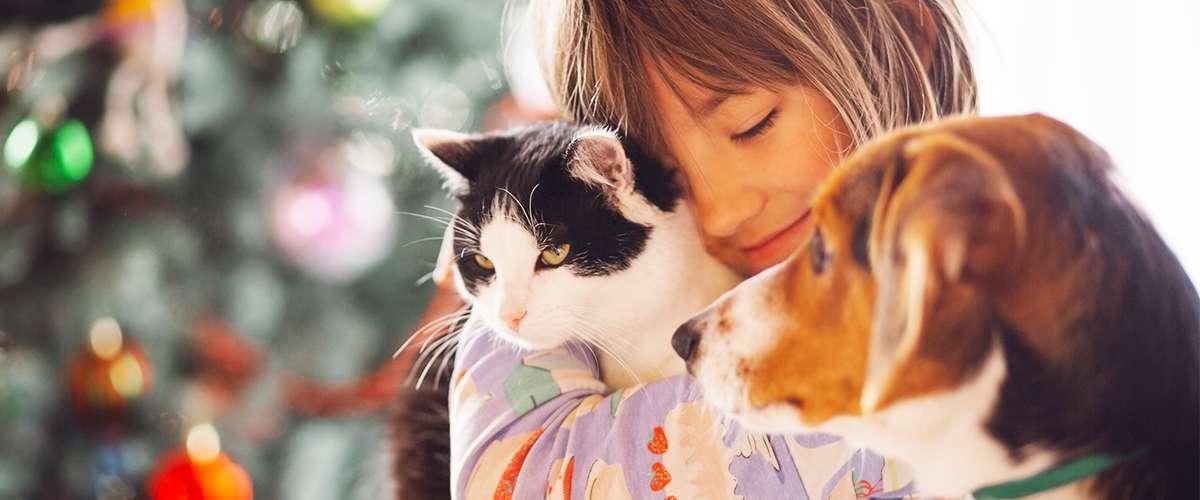 تأثير تربية الحيوانات الأليفة على الأطفال