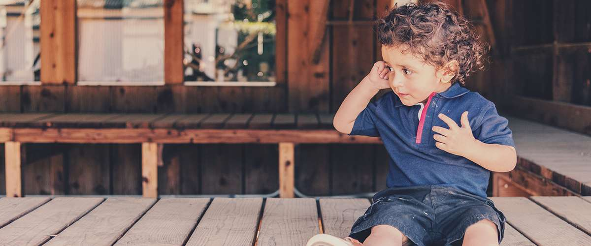 التأتأة أو التلعثم في الكلام عند الأطفال