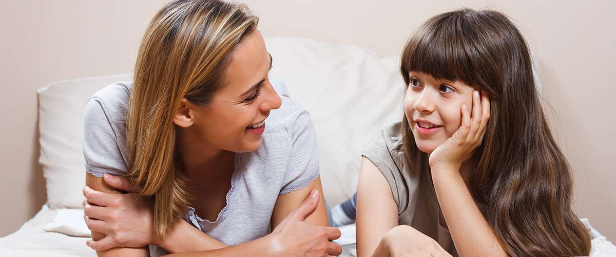 6 طرق لخلق حوار مع طفلك