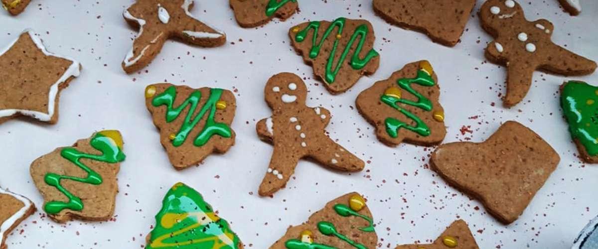 بسكويت الجنزبيل Gingerbread cookies