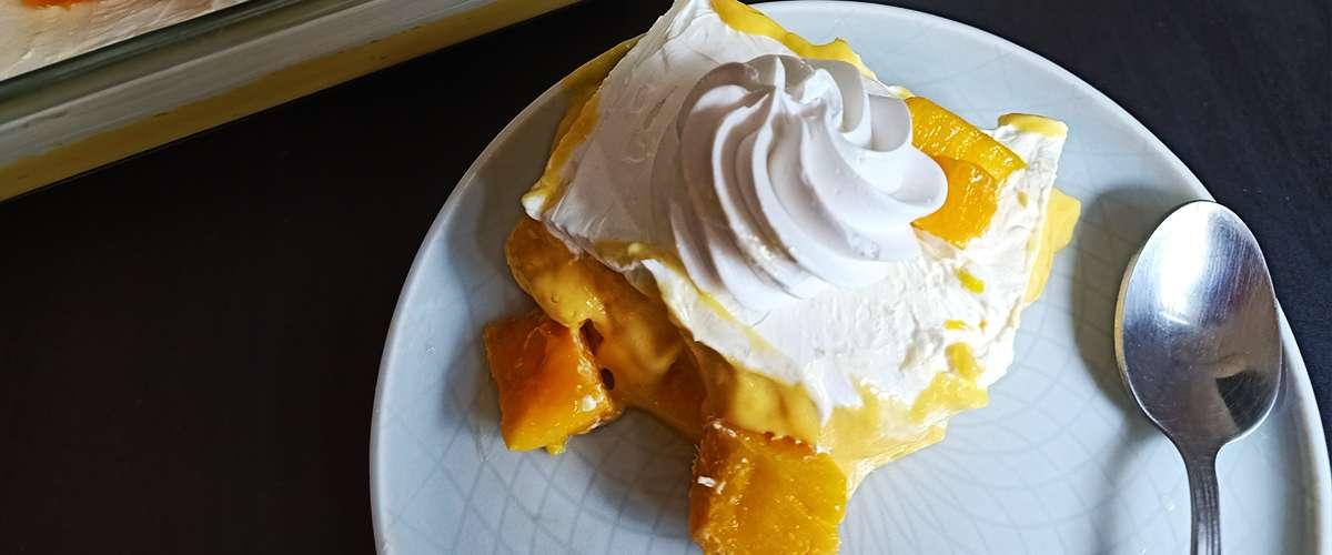 وصفات صيفية لذيذة: حلوى كريمة المانجو